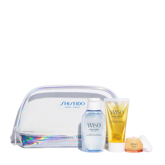Waso Essentials Set For Dry Normal Combination Skin